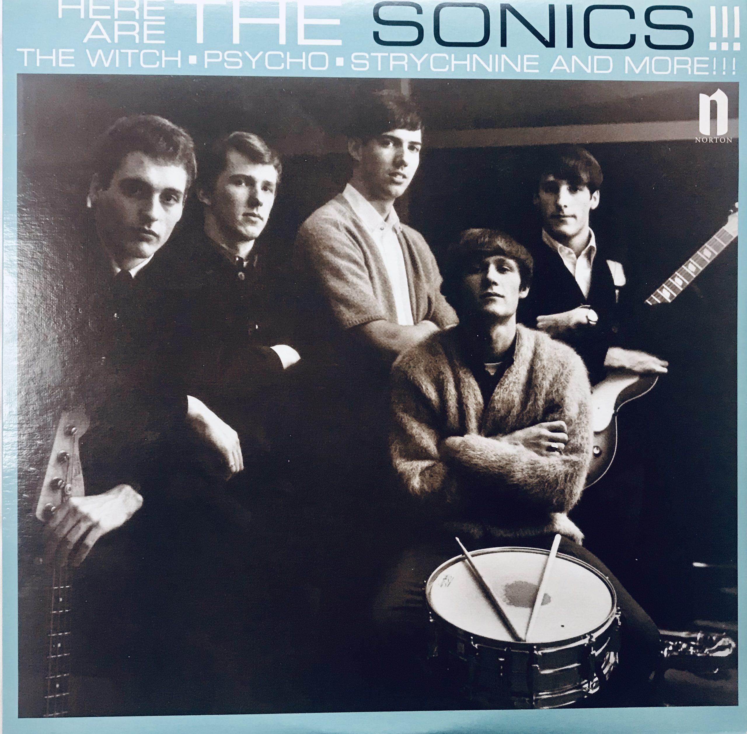 ロックの名盤は裏のビートルズのこいつらだ【The Sonics】